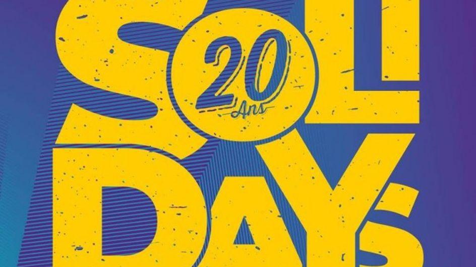 Solidays fête ses 20 ans, on vous raconte l'évènement du week-end !