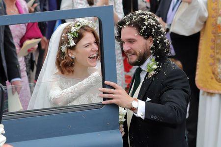 Jon Snow et Ygritte de Game of Thrones se sont mariés !