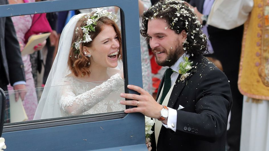 """Jon Snow et Ygritte de Game of Thrones se sont dit """"oui"""" ! (Photos)"""