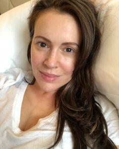 Alyssa Milano, sans maquillage sur Instagram, le 21 juin 2018