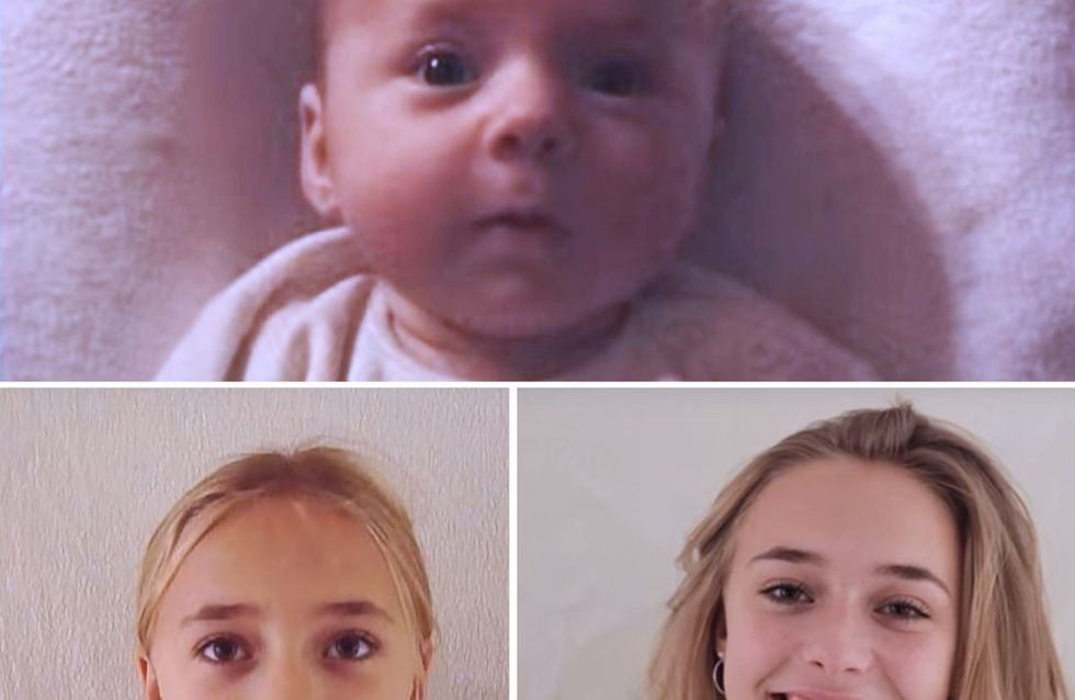 Pour garder ses souvenirs intacts, un père filme sa fille de sa naissance à ses 18 ans