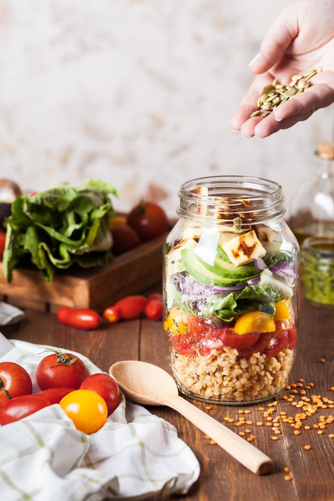 Une bonne salade : pensez aussi à la présentation !