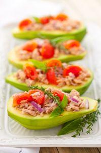 Salade d'avocat au thon, une recette facile en rentrant du boulot