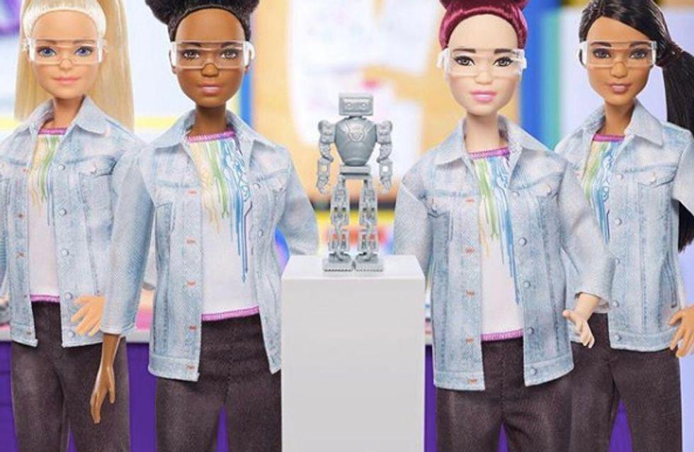 Mattel brise les codes en sortant une Barbie ingénieure en robotique