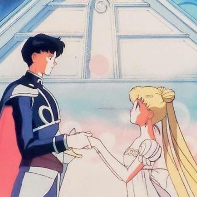 Potere Del Cristallo Di Fidanzamento Lanello Nuziale Di Sailor Moon