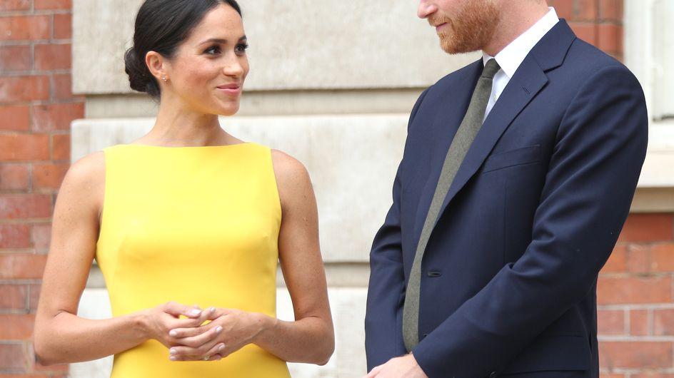 Meghan Markle a osé la robe jaune vif et c'est une grande première !