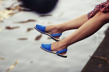 Sandali per nascondere alluce valgo minorchine