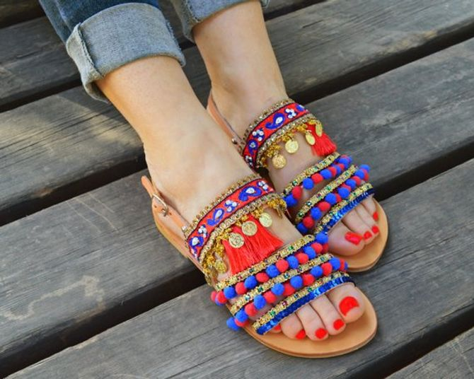 Sandali per nascondere alluce valgo voluminosi