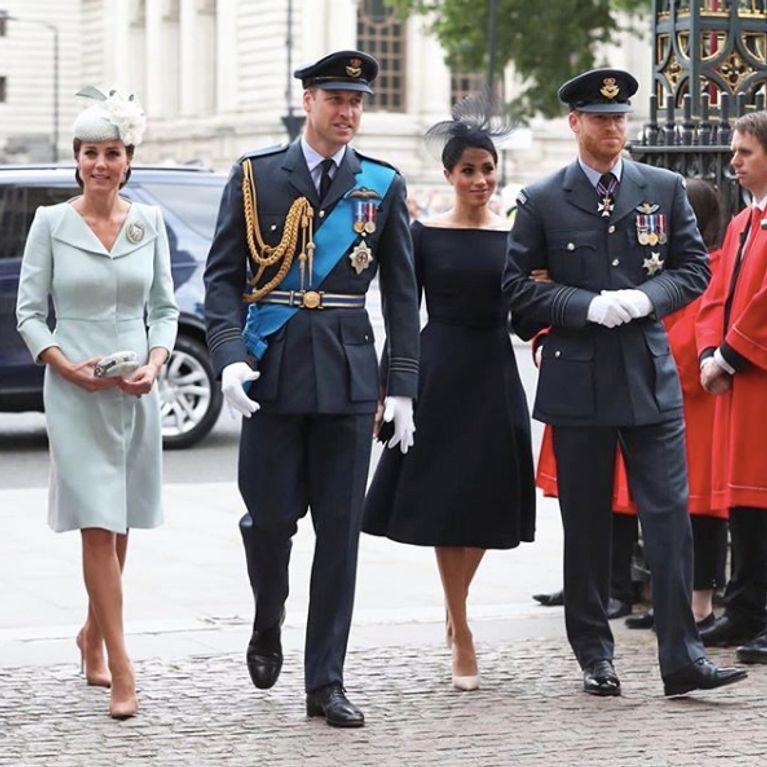 14707f01bc7d6 Kate Middleton et Meghan Markle