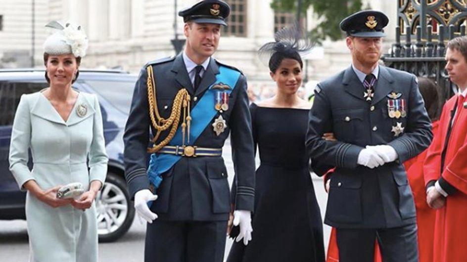 Kate Middleton et Meghan Markle, réunies pour fêter le 100e anniversaire de la Royal Air Force