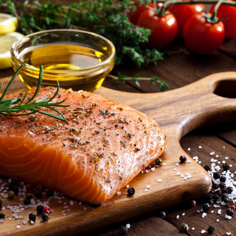receta de salsa para pescado salmon al horno