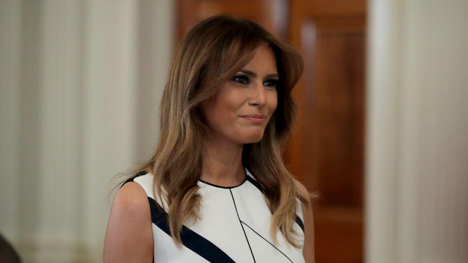 Melania Trump, sa petite robe d'été à 1300€ fait encore grincer des dents