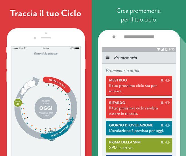 Calendario Mestruale Giorni Fertili.App Per Ciclo Mestruale E Calcolo Ovulazione