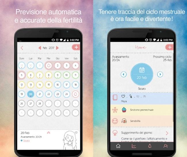 Calendario Maya Gravidanza.App Per Ciclo Mestruale E Calcolo Ovulazione