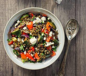 Ensalada de lentejas, las recetas más ricas y saludables para tus menús