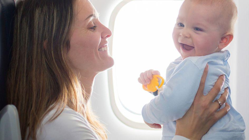 Fliegen mit Baby: 6 Tipps, damit der Urlaub bereits entspannt startet