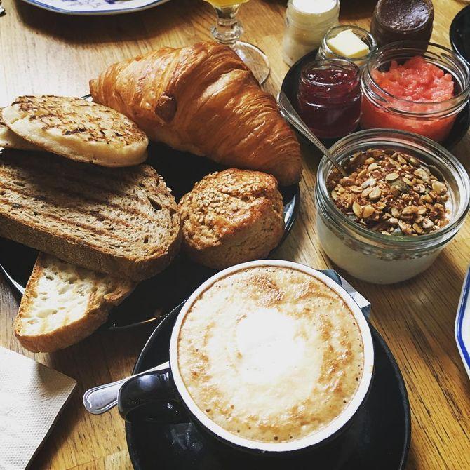 Brunch en Madrid - MÜR Café