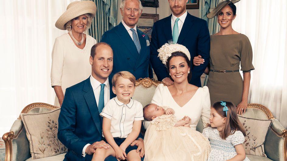 Les photos officielles du baptême du prince Louis sont là !