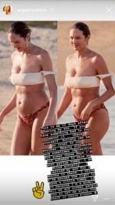 Victime de body shaming après son accouchement, cet ange Victoria's Secret répond à ses haters (photos)