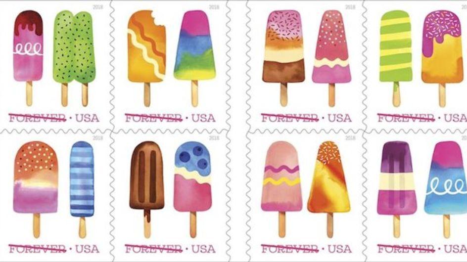 Des timbres qui sentent bon l'été