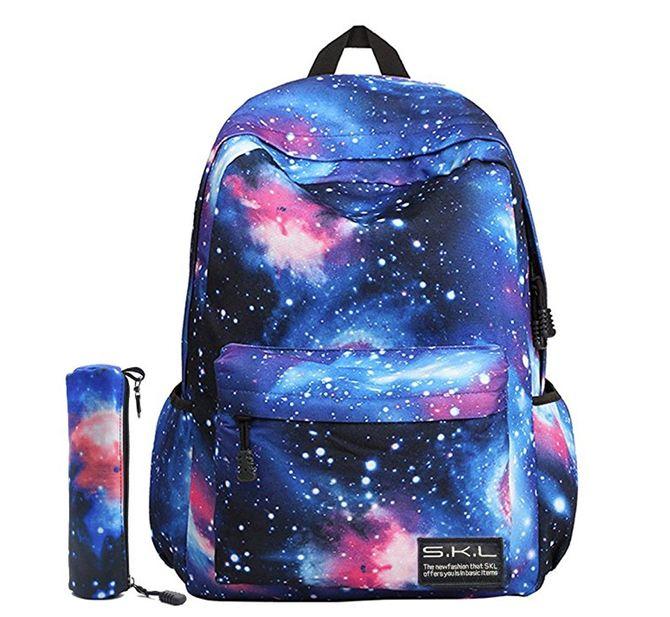 Mochila Escolar Juvenil SKL Modelo Galaxia (10'98 euros)