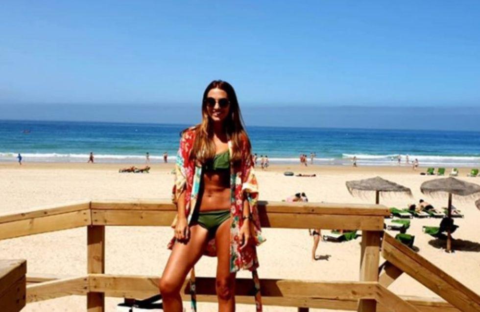 Paula Echevarría, unas vacaciones en el foco de la polémica