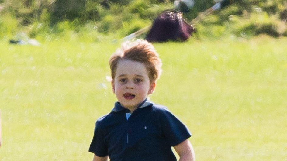 Le prince George est trop mignon sur la photo inédite dévoilée pour son anniversaire !