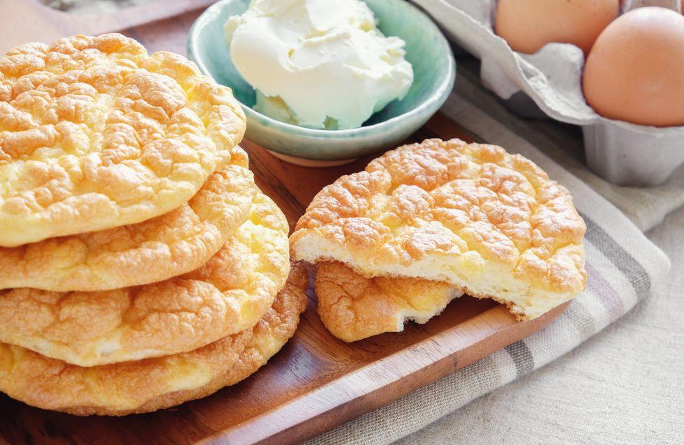 Cloud Bread: So könnt ihr Brot ohne Kohlenhydrate ganz schnell nachbacken!