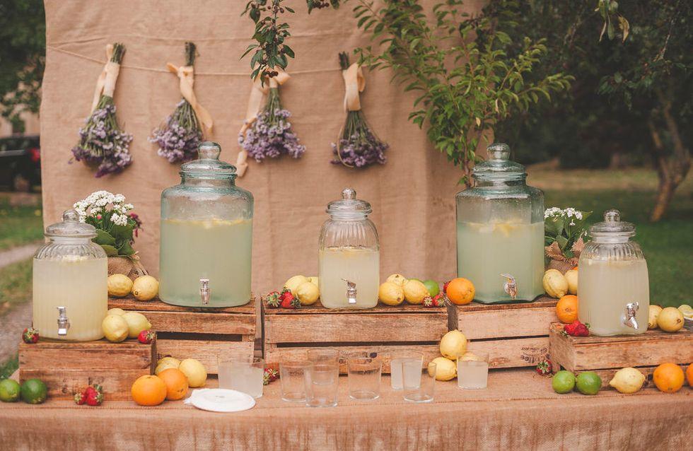 Ideas para el banquete de una boda de verano