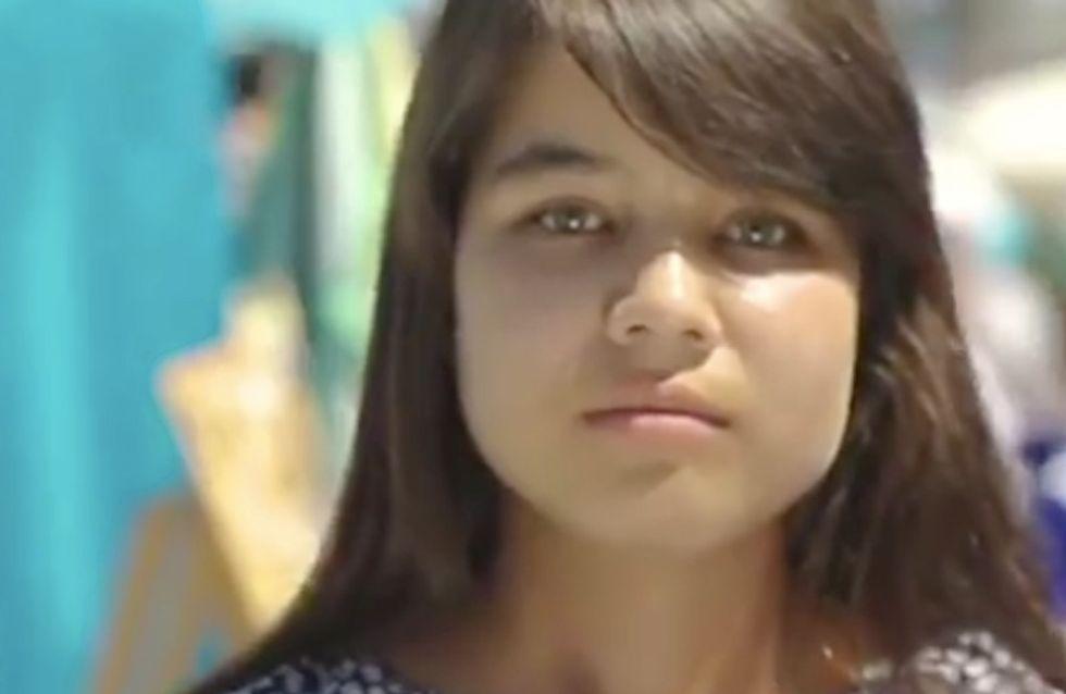 Atteinte du VIH, elle demande des câlins à des inconnus… Découvrez leur réaction (Vidéo)