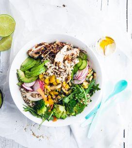 ¿Cómo hacer una ensalada de quinoa? 10 recetas saludables y riquísimas