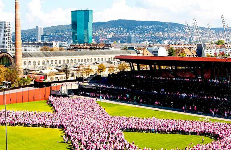 Setzen Sie ein Zeichen: Mit Ihrer Teilnahme erhöht sich die Spende an Pink Ribbon Schweiz