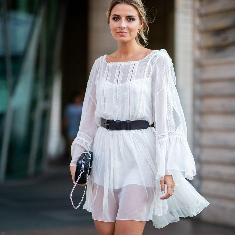 wholesale dealer 5e0a4 32a26 Weißes Kleid kombinieren: Das sind die schönsten Looks!
