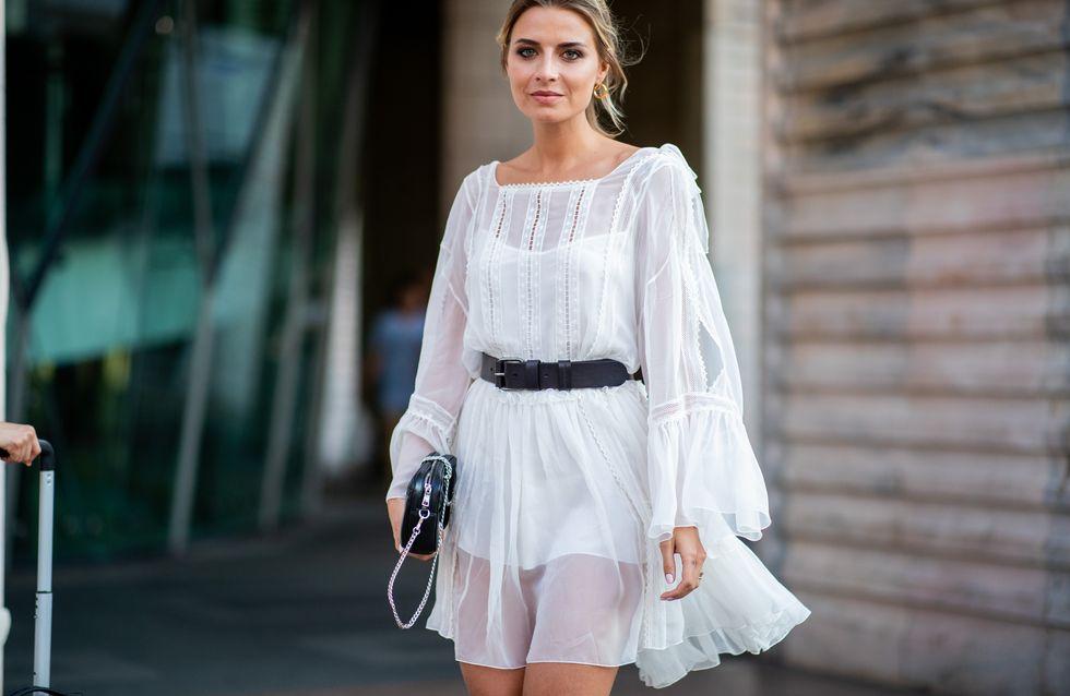 Weißes Kleid kombinieren: Das sind die schönsten Looks!