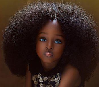 Cette jeune Nigériane est la nouvelle plus belle petite fille du monde (Photos
