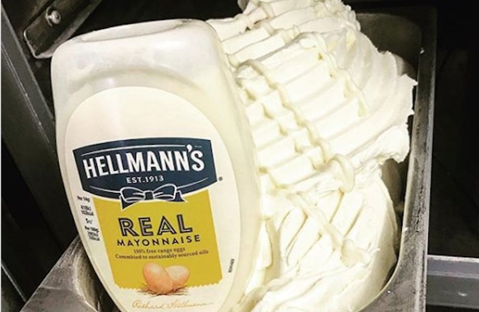 Avis aux accros à la mayo, cette glace est faite pour vous !