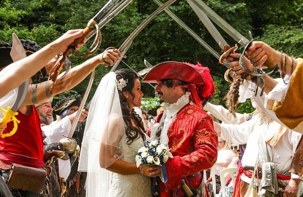 Ce couple se la joue Pirates des Caraïbes pour son mariage