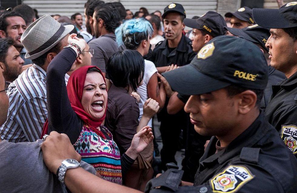 Des milliers de Tunisiens manifestent pour le maintien de l'inégalité femmes-hommes