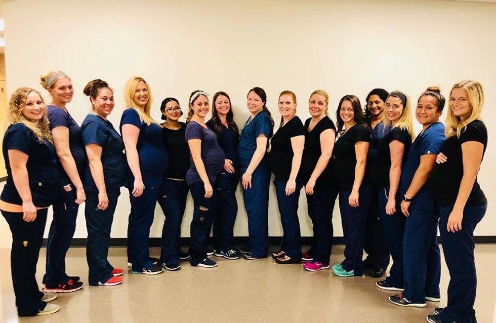 Baby Boom ! 16 infirmières d'un même hôpital tombent enceintes en même temps