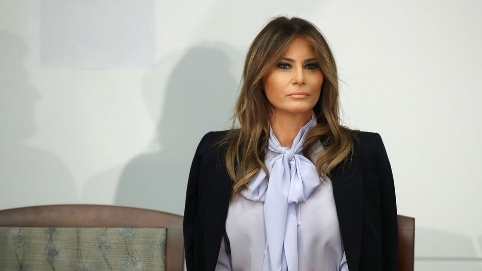 "Melania Trump, le vrai message caché derrière sa veste ""I Really Don't Care"""