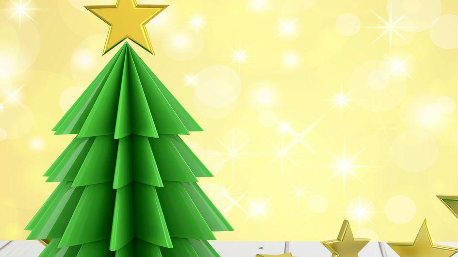 Flocon, sapin, étoile… 4 tutos pour créer des origamis de Noël