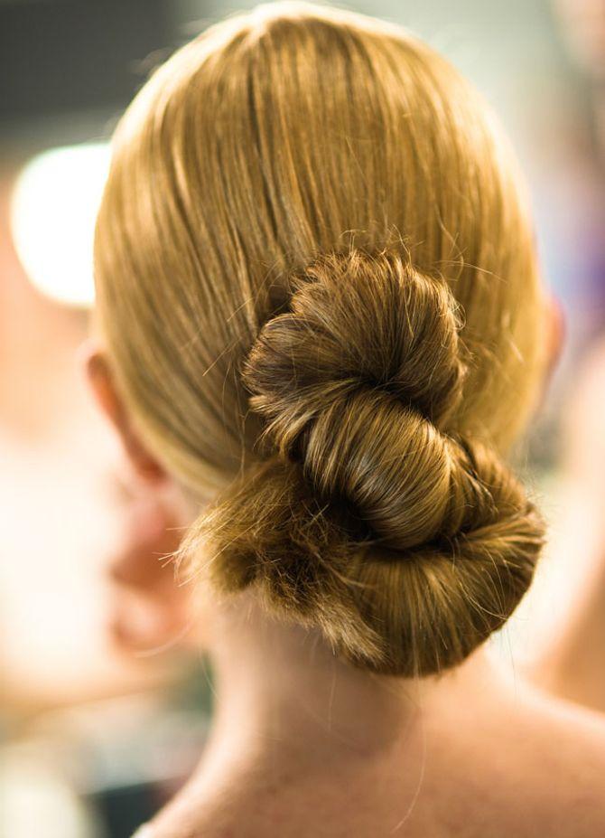 Schnelle Frisuren für Langschläfer: Die Spirale