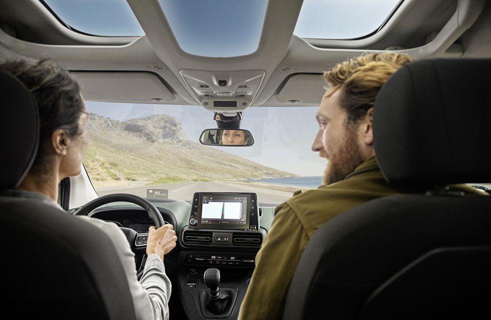 Participez dès maintenant: En route pour le village de tipis à bord du nouveau Citroën Berlingo