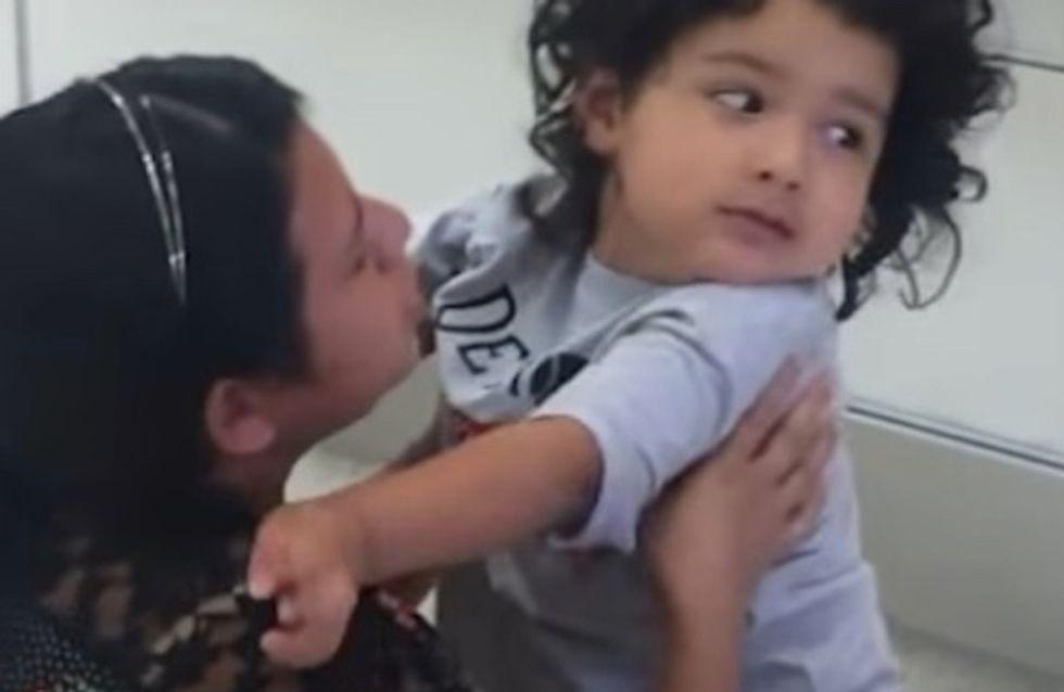 La réaction de cet enfant, séparé de sa mère par Trump, va vous briser le coeur (vidéo)