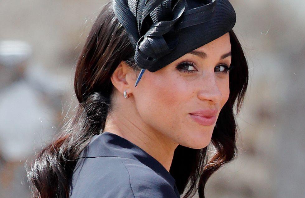 Meghan Markle ose la mini robe noire et elle est CA-NON !