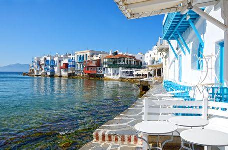 Pequeña Venecia, Mykonos