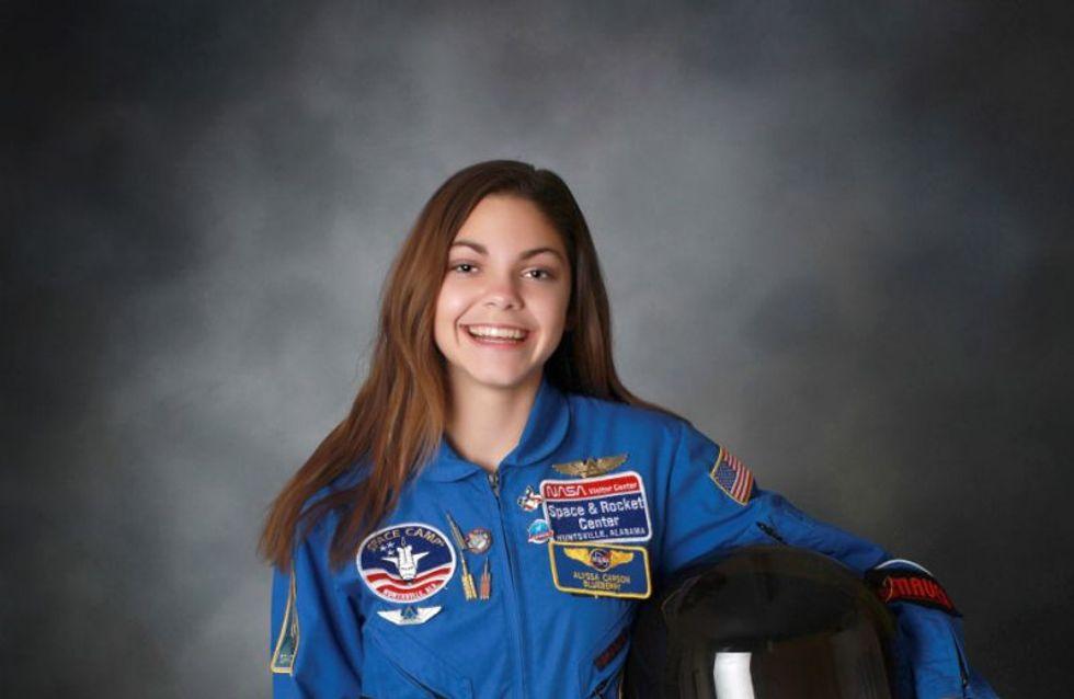 Alyssa, 17 ans se prépare à devenir le premier humain à fouler le sol de Mars