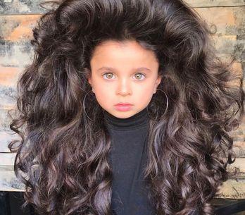 Avec son incroyable chevelure, cette fillette de 5 ans nous rend toutes jalouses