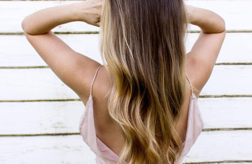Frisuren blond dunkle strahnen