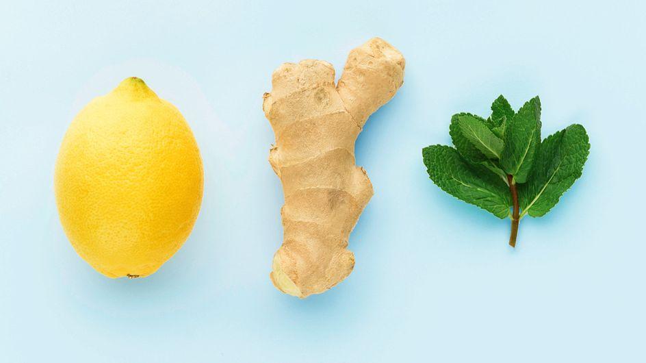 Gegen die Erkältung: So kannst du gesunde Ingwer-Shots selber machen!